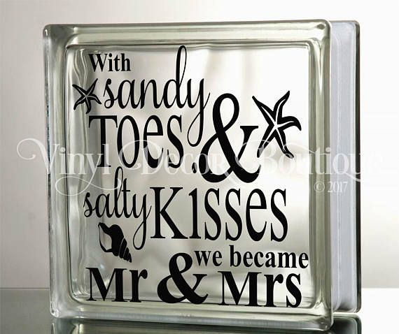 With sandy toes and salty kisses we became Mr and Mrs DIY