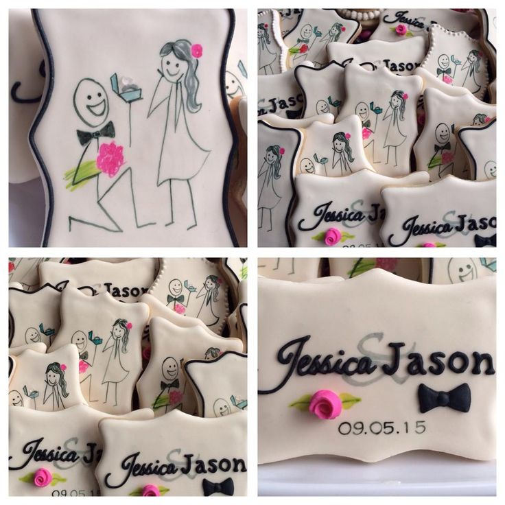 Stick Figure Engagement Cookies | Cookie Connection