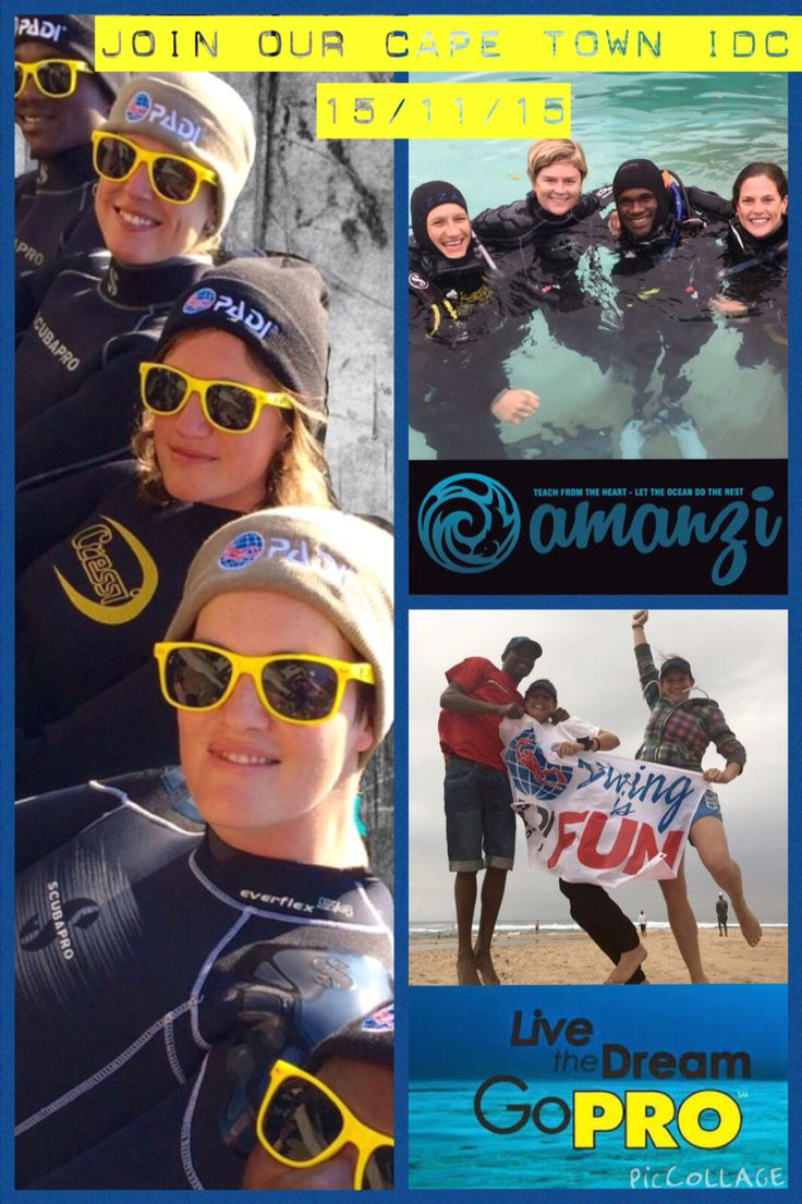 Join our Cape Town PADI IDC Coming up in November 2015