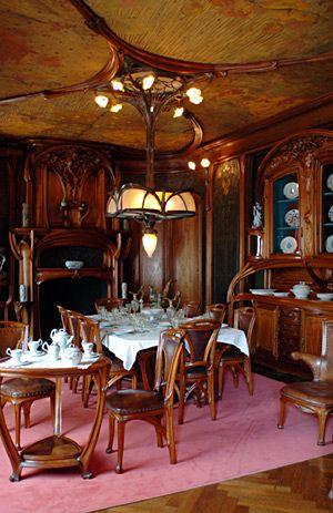 Eugène Vallin, salle à manger Masson, 1903-1904 Musée de l'Ecole de Nancy