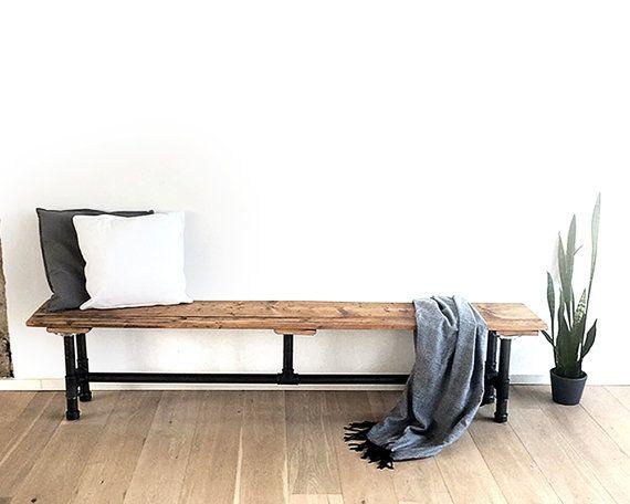 bank 3 4 sitzer von rheintisch auf etsy ladeneinrichtung. Black Bedroom Furniture Sets. Home Design Ideas