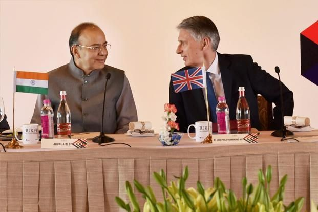 The Finance Ministers of the UK and India, met here on 4th April in Delhi for the 9th round of Economic and Financial Dialogue (EFD). They discussed how, notwithstanding the UK's triggering of Article 50, India and the UK can work together to:   #arun jaiteley #commonwealth #finance minister #global economy #great britain #India #India growth #london #SAARC #UK