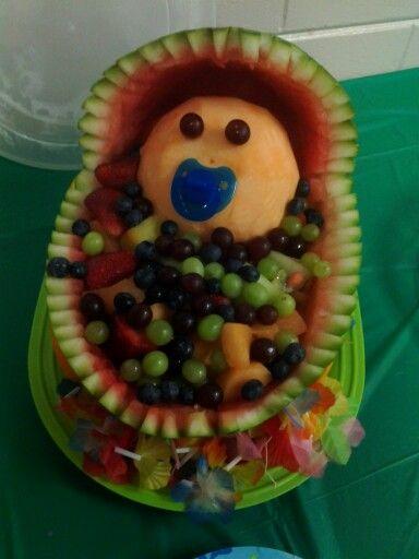 Luau Baby Shower- Watermelon Baby