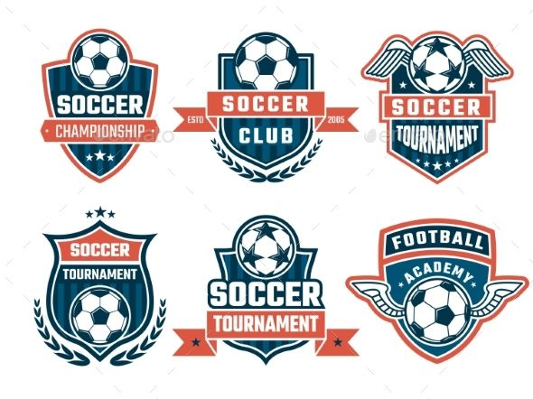 Different Logos For Football Club Football Logo Design Soccer Logo Football Club