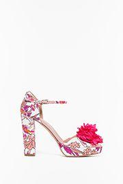 TWIN-SET Simona Barbieri :: PE16 :: Twin-set Sandalo Stampa :: CS6PAG