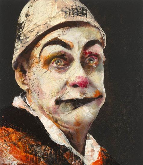 Lita Cabellut - Contemporary Artist - Figurative Painting - Modern Portrait