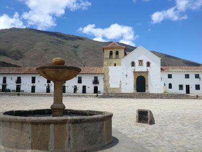 Plaza de Villa de Leyva Boyacá, COLOMBIA