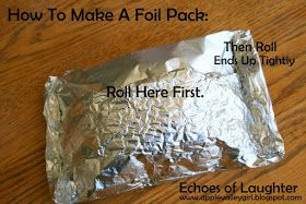 Echoes of Laughter: Camping & BBQ Recipes Week: Warm & Melty Cheese Dip in Tin Foil