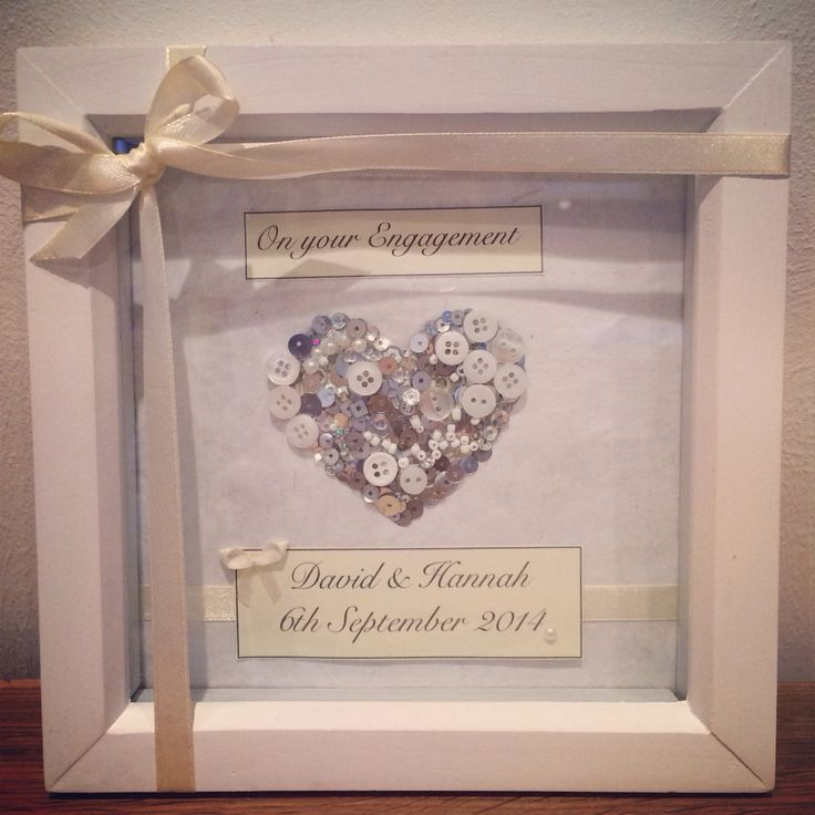 engagement personalised frame