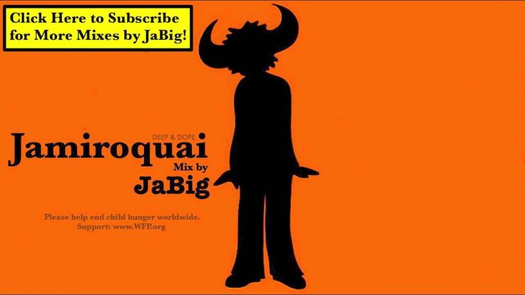 Oh ya.....nice feel jazz: Jamiroquai DJ Mix by JaBig Acid Jazz Funk Music Rock Deep House Lounge C...