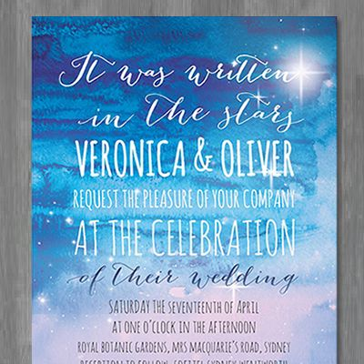 15 best wedding invitations by couture card company images on if you believe in fate and destiny youll love our latest wedding invitation design written in the stars by the couture card company stopboris Images