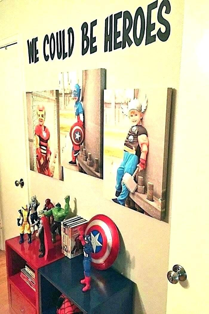 Superhero Room Decor Avengers Room Decor Superhero Bedroom Decor