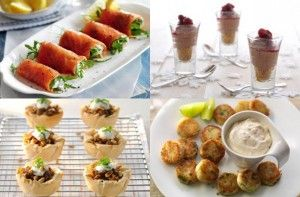 Easy canapes ideas - 50 quick and easy canapes