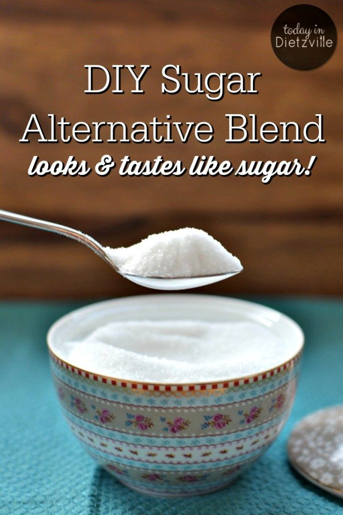 DIY Sugar Alternative Blend, aka Dietz Sweet | This year, I ended my 32-year committed relationship with sugar. But I'm not missing out on sweets because I have a trick up my sleeve for a DIY blend that substitutes for sugar cup for cup! | TodayInDietzville.com