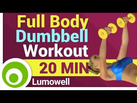 Full Body Dumbbell Workout for Women - YouTube