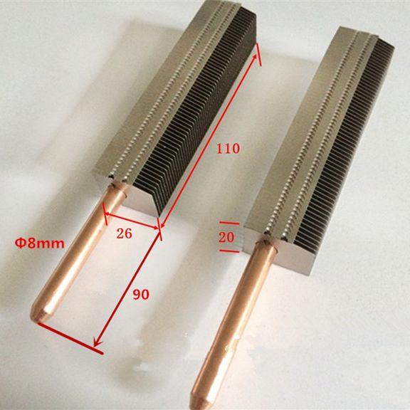 Diy 200mm Desktop Computer Cpu Gpu Cooling Cooler Heat