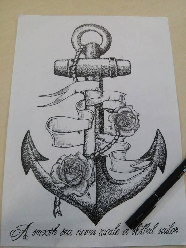 Anchor Dotwork