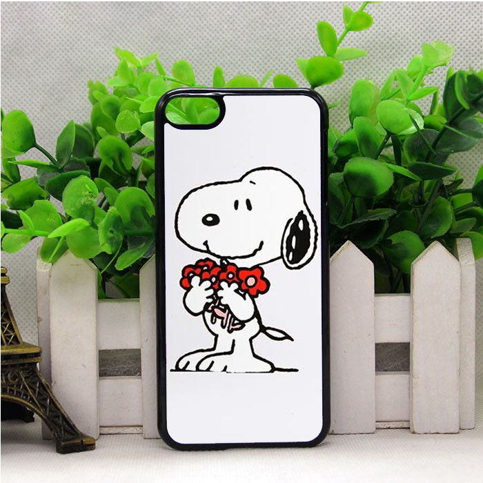 CHARLIE BROWN SNOOPY FLOWER IPOD TOUCH 6