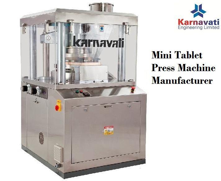 Lab Scale Tablet Press Machine R D Tablet Press Machine Karnavati Press Machine Mini Tablet Tablet