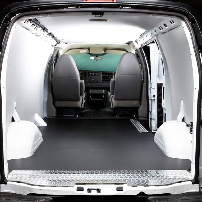 Legend Fleet Solutions Automat Bar Floors For Chevrolet Express And Gmc Savana U S Upfitters Chevy Express Gmc Used Electric Cars