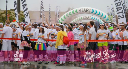 Color Me Happy I'm In The Color Run!  Wanna Join me and become a Color Runner too? I have a $5 OFF Code PLUS 2 FREE Registrations...just leave a comment saying why YOU want to be a part of the Happiest 5K On The Planet and I may pick you!