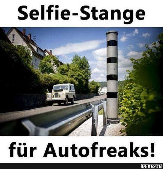 Selfie-Stange für Autofreaks! | Lustige Bilder, Sprüche, Witze, echt lustig
