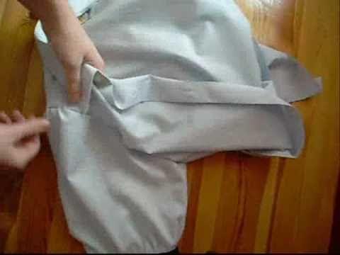 Jak zrobić bufki, zwęzić bluzkę i wszyć rękawy :) przerabianie męskiej koszuli