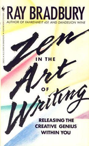 'Zen in the Art of Writing' de Ray Bradbury #livros #recursosdoescritor