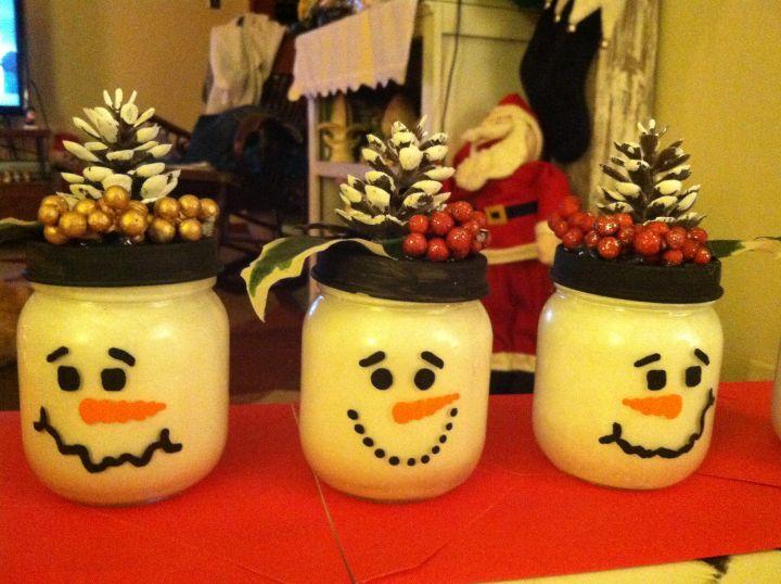 Baby Food Jar Christmas Crafts