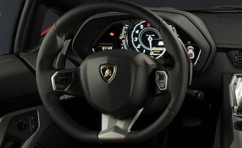 2017 Lamborghini Aventador - interior 1