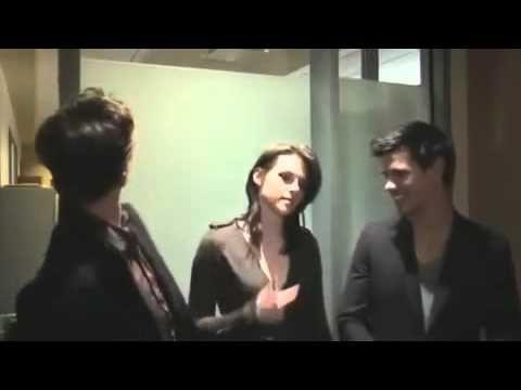 Twilight Saga Eclipse Cast's funniest moments