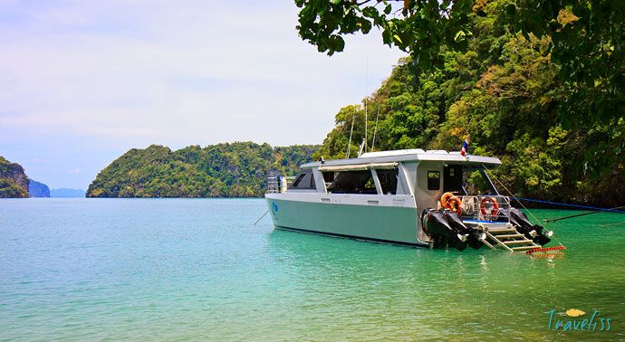 Hong Island Krabi Tour by Catamaran Review