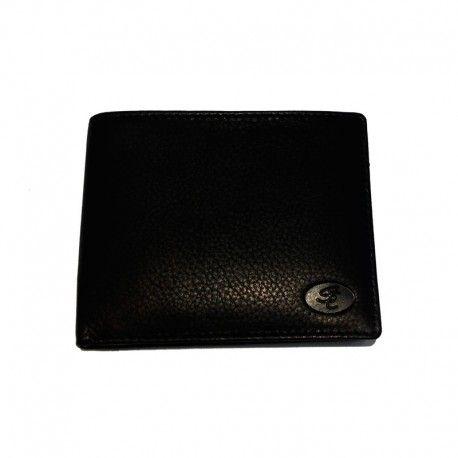 Lille enkel herre pung i skind m. plads til 3 kort fra Stephanie 99006