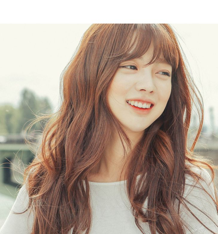 Best 25+ Korean Bangs Ideas On Pinterest