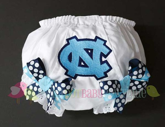 North Carolina Basketball Baby Clothes