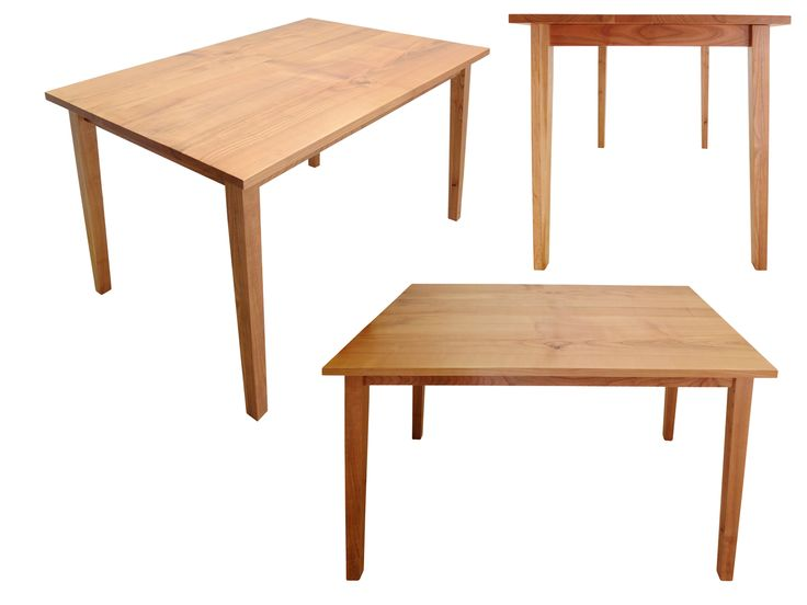 Stół (do jadalni) Cherry, lite drewno (wiśnia) / Esstisch (aus Massivholz - Kirschbaumholz) Cherry