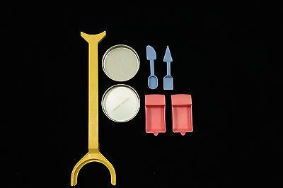 Easy Bake Oven Pan Pusher, Baking Pans, Utensils, Warming Cups Replacement Parts