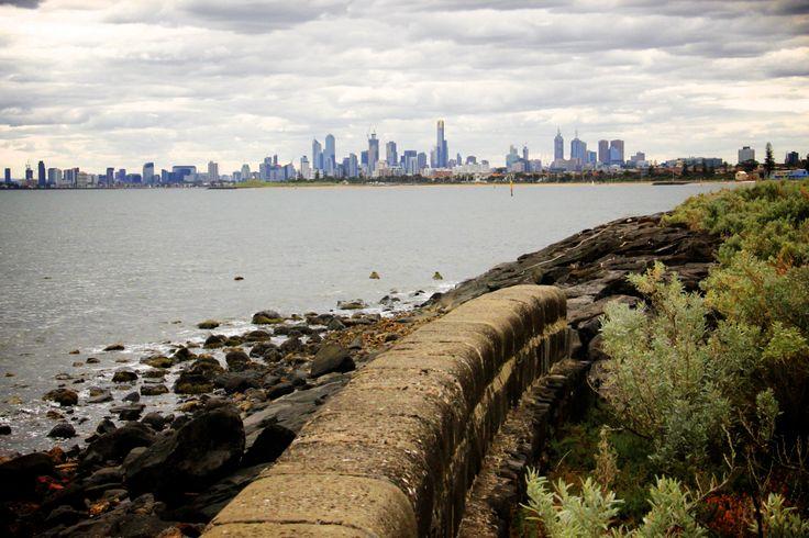 Melbourne from Elwood beach