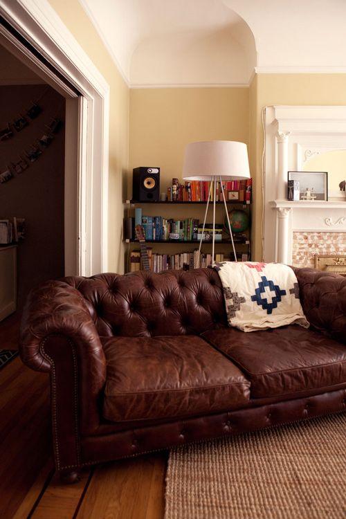 laura brunow miner's living room