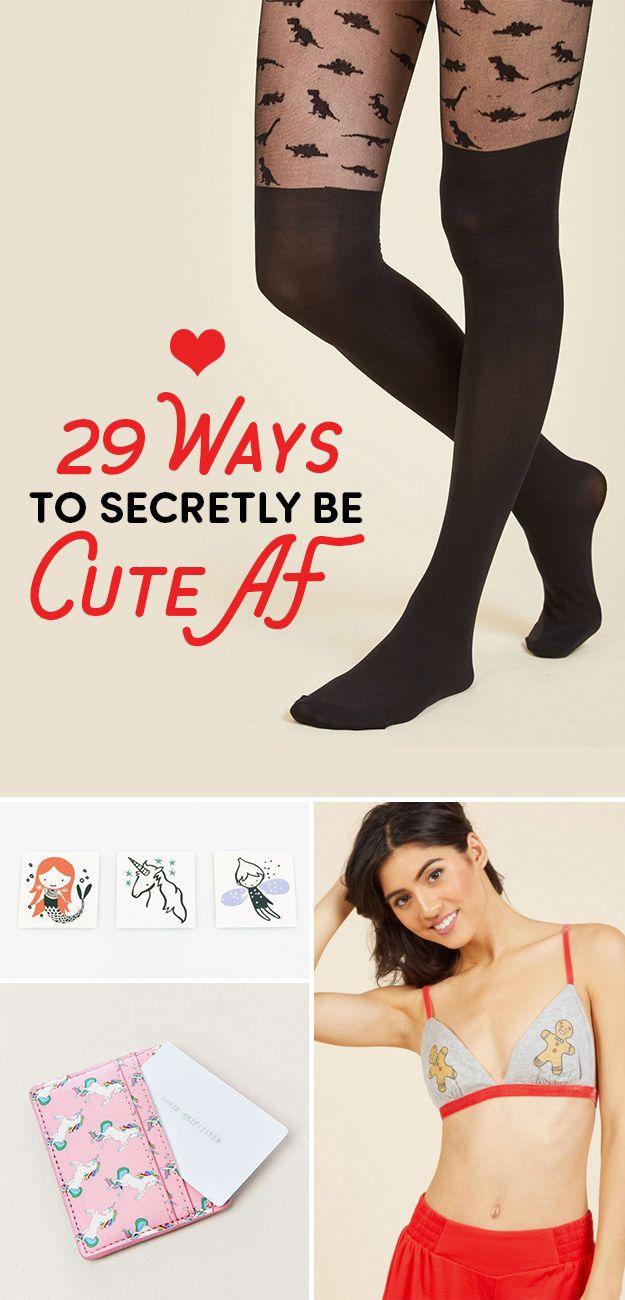 29 Adorable Ways To Secretly Be Cute AF