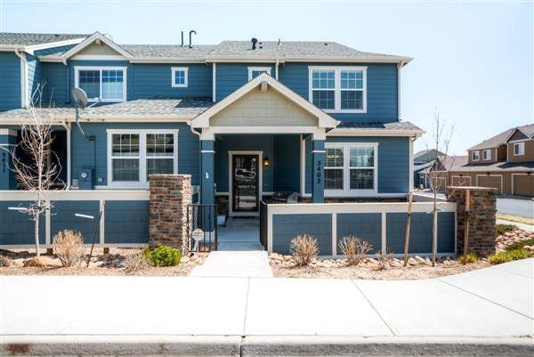 Lovely End Unit Townhome In Academy School District 20! Every Room Of This Home Is Upgraded – New Carpet, Granite Countertops, Stainless Ste...