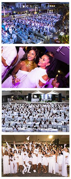 The 2nd edition of Le Diner en Blanc - Port of Spain, Trinidad-and-Tobago 2017
