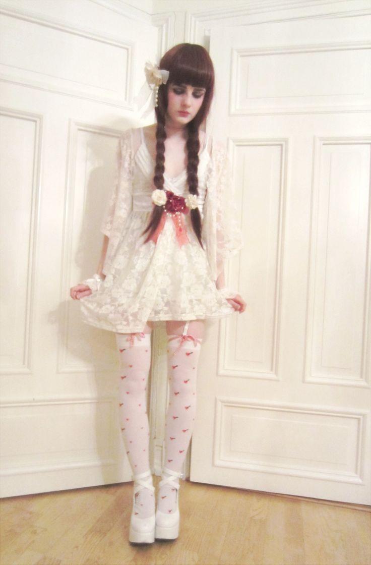 41 best Roupas para o Dormitu00f3rio images on Pinterest | Lolita fashion Corsets and Frock dress