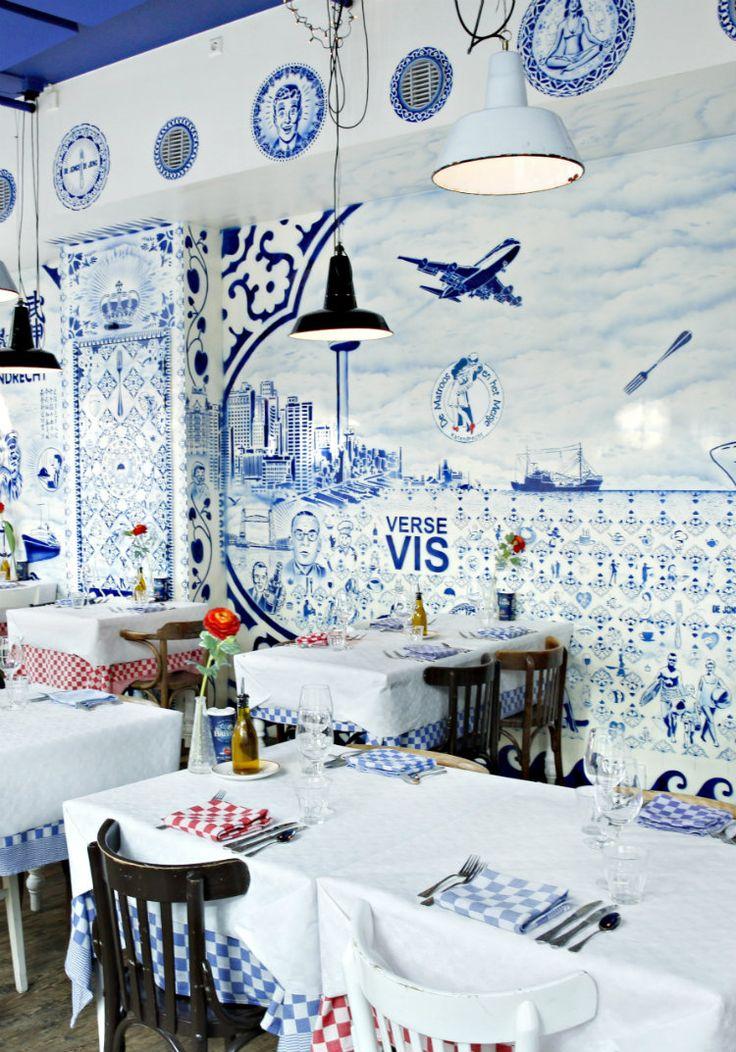 City guide Rotterdam, The Netherlands. Have dinner at De Matroos en het Meisje, in Rotterdam.