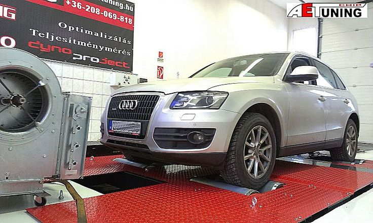 Audi Q5 3.0TDI Chiptuning referencia AET CHIP