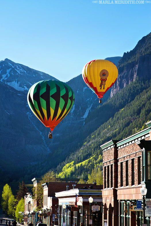 Telluride, CO Hot Air Balloon Festival 2013   AMAZING Family Travel   FamilyFreshCooking.com