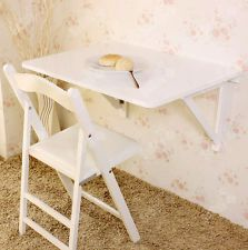 SoBuy® Wall-mounted Drop-leaf Table, Folding Wood Table Desk, 75x60cm, FWT05, UK