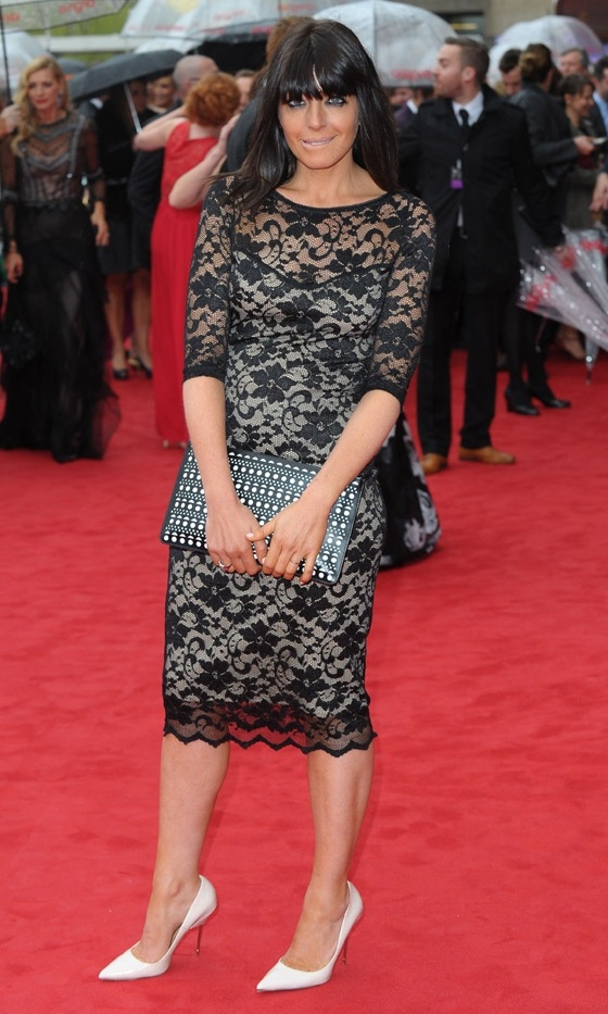 CLAUDIA WINKLEMAN- BAFTAS 2013