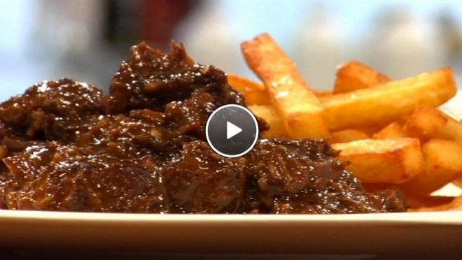 Vlaams stoofvlees met frieten - The Taste of Life Travel | 24Kitchen ...