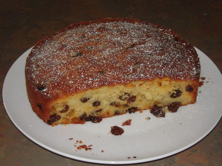 This is a moist and buttery sultana cake adapted from a very old family recipe. My family are not into heavy fruit cakes. However they love this cake and it is welcome at any time in our house, especially at Christmas rather than a more traditional fruit Christmas cake.